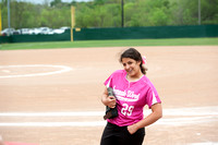 Softball pink out JV 4/5